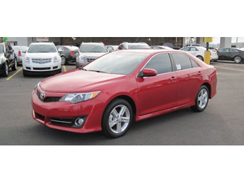 12 TOYOTA CAMRY SE Only 42000 Miles Nicely Equipped Very Reliable Clean As A Whistle file Phot