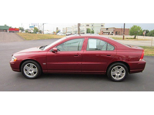 04 VOLVO S60 25T One Owner Low Miles Local Trade Call With Confidence Se Hable Espanol 866-490