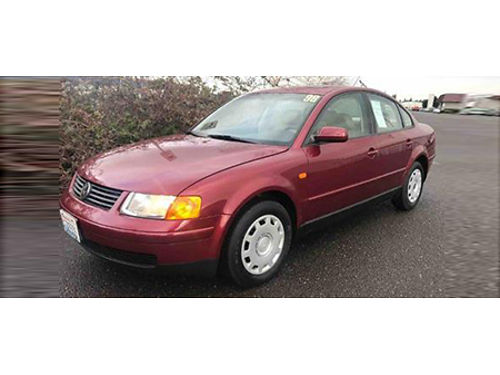 98 VW PASSAT Only 90k Miles Local Trade Call Fast Fast Fast Se Hable Espanol 866-490-5173 707