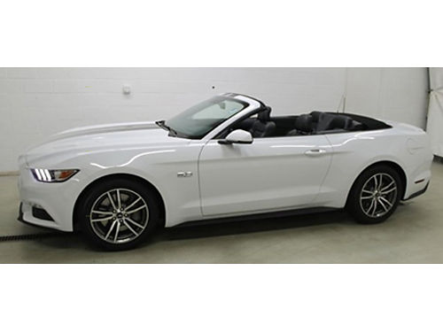 16 FORD MUSTANG ECO CONVT Eco Package Leather Package One Owner Hard To Find Factory Warranty S