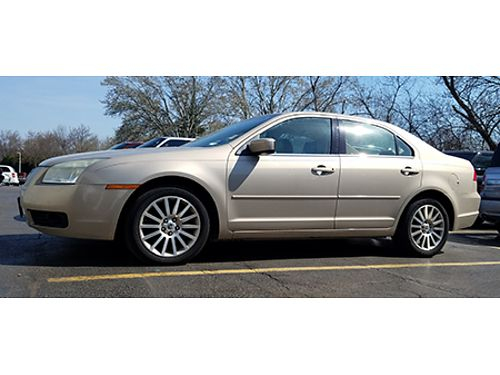 06 MERCURY MILAN PREMIER Leather Good Miles Local Trade Ford Dealer Ford Inspected Call With Co