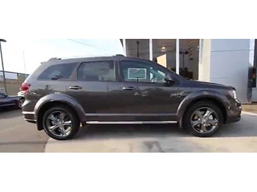 15 DODGE JOURNEY CROSSROAD AWD Good Miles V6 AWD Crossroad Package Ultra Clean Bring In This Ad