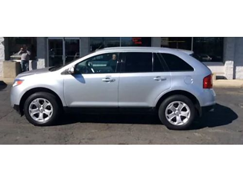 13 FORD EDGE SEL AWD Ford Dealer Ford Inspected Call With Confidence AWD SEL Upgraded Se Habla