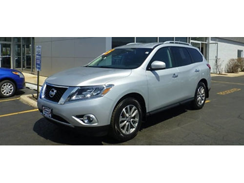 15 NISSAN PATHFINDER S 4WD Low Low Price Fully Loaded Local Trade 4X4 Call With Confidence Se H