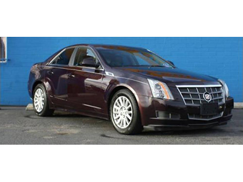 10 CADILLAC CTS 4 AWD Premium Purple Power Luxury Leather Loved Local Trade 866-490-5173 P4692B