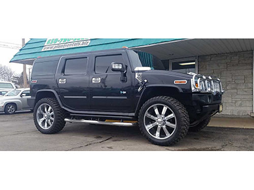 06 HUMMER H2 ALPHA 4WD Jacked Packed And Stacked Loaded With Luxury 855-322-9403 1304 24950