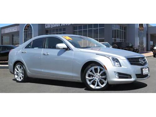 14 CADILLAC ATS PREMIUM AWD Great Miles Low Price Climate Leather AWD Premium Kit Bring In This