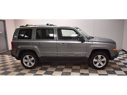 13 JEEP PATRIOT LTD Navigation Moonroof Leather Local Trade One Owner Bring In This Ad 866-490