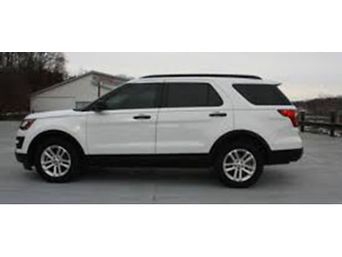 16 FORD EXPLORER 4WD One Owner Ford Dealer Ford Inspected 3rd Row Local Purchase Se Habla Espan