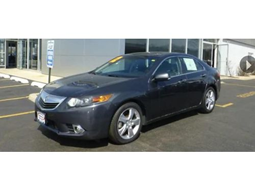 12 ACURA TSX TECH PACKAGE Only 49000 Miles Tech Package Leather Premium Se Hable Espanol 866-4