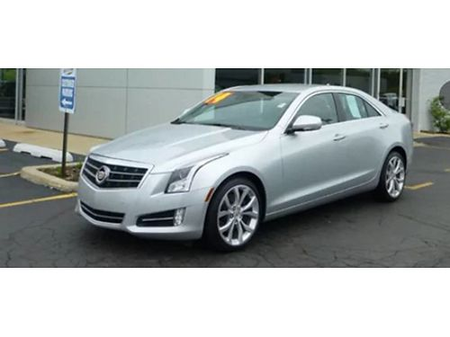 14 CADILLAC ATS Only 50000 Miles Premium Kit Tech Loaded Absolutely Stunning 866-490-5173 P510