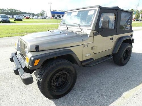 2002 JEEP WRANGLER 4x4 AC 6 Speed Buy Here Pay Here No Credit Approved 866 216-2870 9990