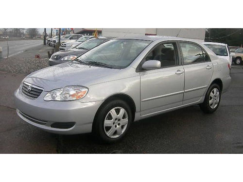 2007 TOYOTA COROLLA AC All Power Automatic We Finance Everyone Buy Here Pay Here 877 210-640
