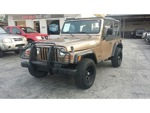 2000 JEEP WRANGLER SE 4x4 All Power Automatic 130k Miles Buy Here Pay Here No Credit Approved