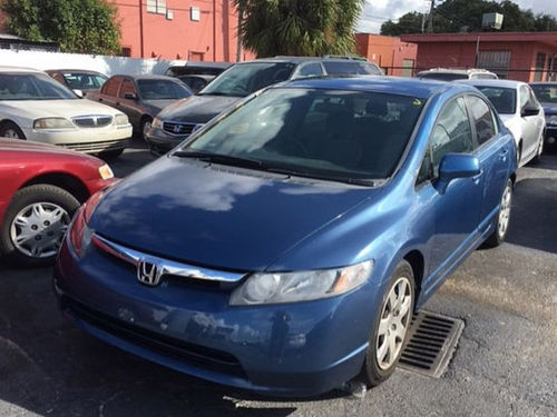 2007 HONDA CIVIC All Power Automatic We Finance Everyone Buy Here Pay Here 877 210-6400 4995