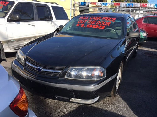 2000 CHEVROLET IMPALA LS AC All Power Automatic Leather Everyone Is Approved 888 634-6144 1