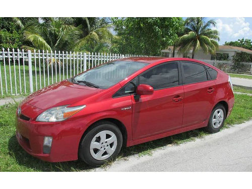 2010 TOYOTA PRIUS III All Power Alloys Automatic 113K Miles Cash Prices 305 494-6623 7500