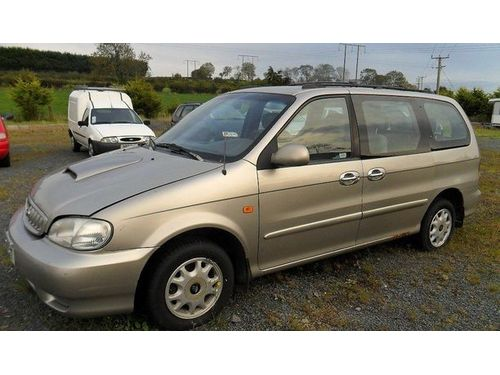 2002 KIA SEDONA 3rd Row Seating All Power Automatic We Finance Everyone Buy Here Pay Here 877