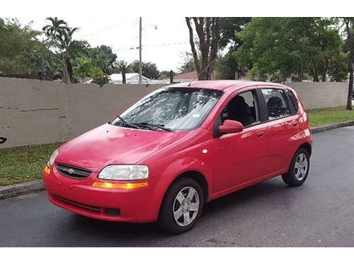 2006 CHEVROLET AVEO All Power Automatic 866 203-7754 3500