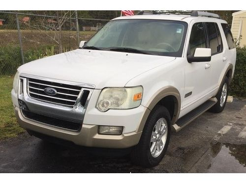 2007 FORD EXPLORER AC All Power Automatic Fully Loaded Buy Here Pay Here Everybodys Approved