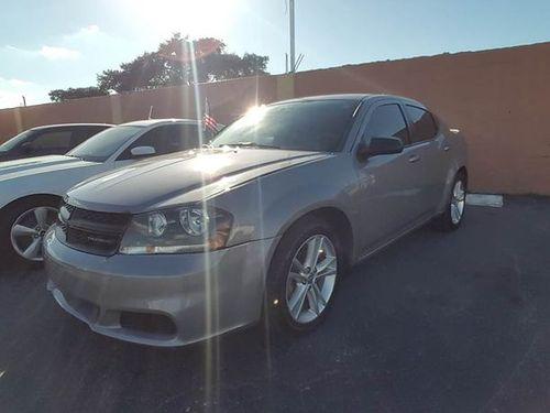 2014 DODGE AVENGER SE AC All Power Automatic Finance Everyone You Work You Drive 305 707-60
