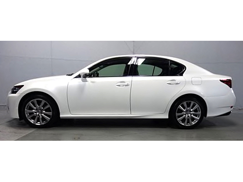 2014 LEXUS GS350 AWD Clean Carfax Navigation 6-spd Automatic W Sequential Shift Back Up Camera