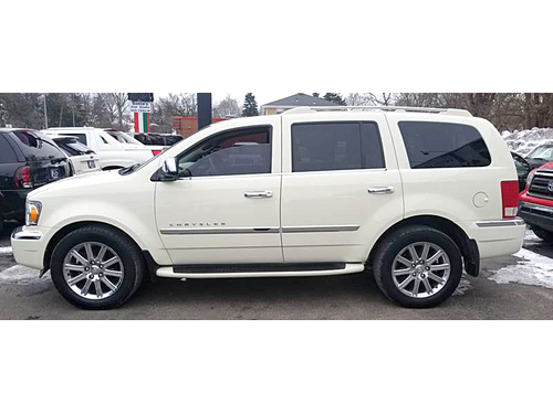 2008 CHRYSLER ASPEN LIMITED AWD 2-Owner With Clean AutoCheck 57L HEMI Moonroof Chrome Wheels 3r