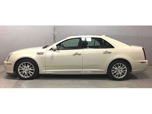 2010 CADILLAC STS AWD Super Rare Luxury Sport Pkg Navi Sunroof Heated Cooled Leather Remote Sta