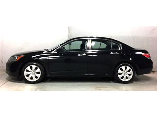 2010 HONDA ACCORD EX-L NO ACCIDENTS Sunroof Bluetooth V6 Black Power Heated Leather Seats Steer