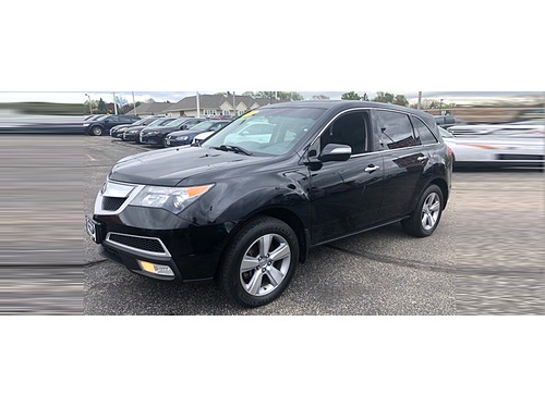 2011 ACURA MDX TECH PACKAGE AWD Only 45K Miles 3rd Row Navigation Heated Milano Leather Seats Su