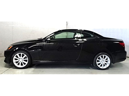 2010 LEXUS IS250 C CONVERTIBLE Priced To MOVE 4-NEW Tires Hard Top Convertible Heated Cooled Lth