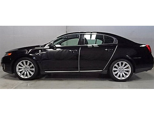 2012 LINCOLN MKS AWD Navigation Heated  Cooled Leather Push Button Start Dual Pane Sunroof THX