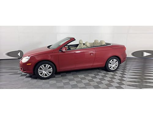 2007 VOLKSWAGEN ECO 20T Hard Top Convertible Heated Leather Auto Climate Ctrl Fog Light Only 69
