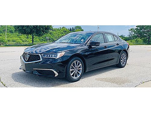 2018 ACURA TLX 1-Owner Clean Carfax W Just 18K Miles Dual LCD Monitors W Back Up Camera Moonroo