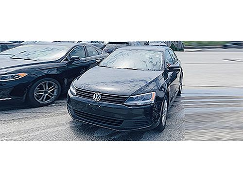 2012 VOLKSWAGEN JETTA SE Clean Carfax  Low Miles CDAUX Heated Mirrors CD Player Keyless Entry