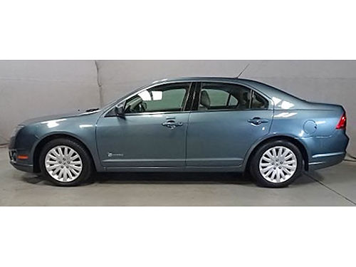 2011 FORD FUSION HYBRID Heated Leather Backup Camera Sunroof Steering Wheel Ctrls Only 36K Miles