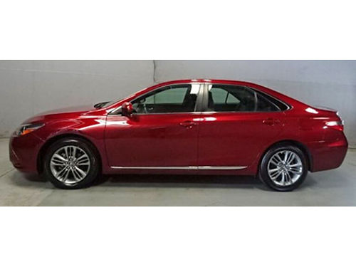 2016 TOYOTA CAMRY Backup Camera Moonroof New Tires Pwr Leather Seats Media Hub  More Call 1-88