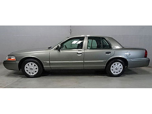2004 MERCURY GRAND MARQUIS GS Clean Carfax Only 75K Miles CD  Cassette Leather Pwr Driver Seat