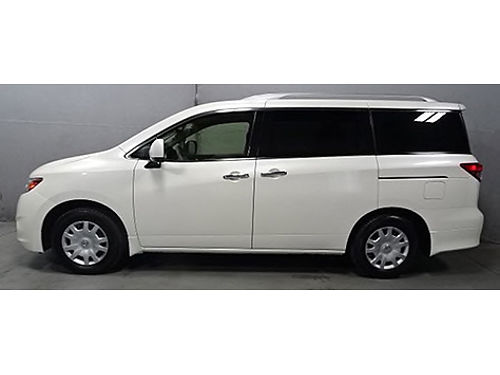 2015 NISSAN QUEST S 1 Year Warranty Low Miles 1 Owner Cruise Ctrl Push Button Start CD Aux A