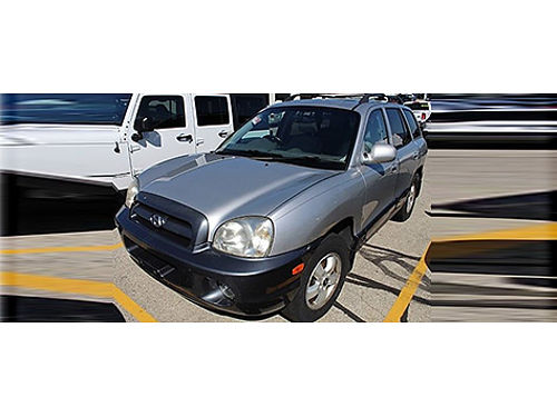 2005 HYUNDAI SANTA FE Clean Carfax Monsoon Audio Alloys Pwr Sunroof Keyless Entry Traction Ctrl