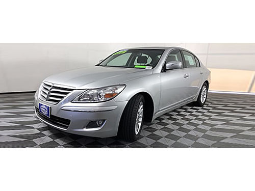 2009 HYUNDAI GENESIS 38L V6 Push Button Start Heated Leather Sirius XM Radio Steering Wheel Ctr