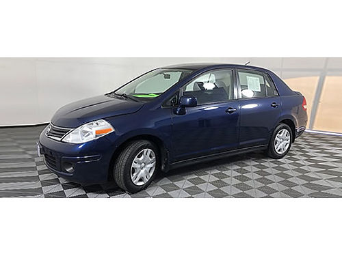 2011 NISSAN VERSA S Power Locks  Windows MP3CD  AUX Ice Cold AC Great MPGs AMFM Radio Cal