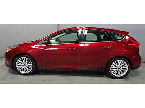 2016 FORD FOCUS TITANIUM 6 Spd Automatic WPowershift Clean 1 Owner Carfax Only 39K Miles Navi S