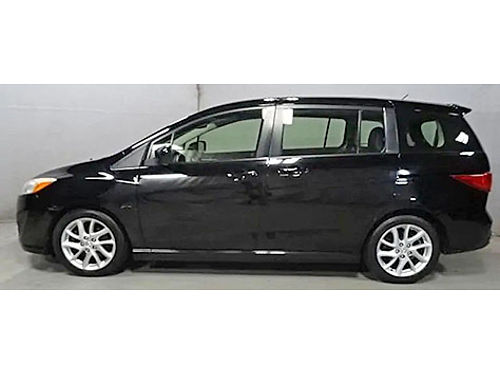 2012 MAZDA 5 GRAND TOURING 5 Spd Automatic WManual Mode Sunroof Steering Wheel Ctrls 3rd Row He