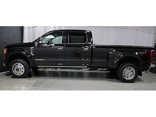 2017 FORD F-450 SD LARIAT Perfect Carfax No Accidents FX4 Package Navigation 5th Wheel Moonroof