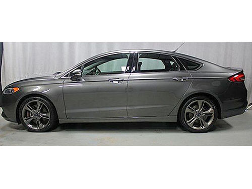 2017 FORD FUSION SPORT 1 Owner Twin Turbo 4 New Tires Navigation Backup Camera Remote Start He