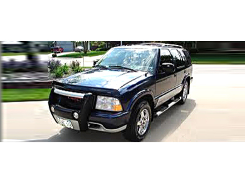 2001 GMC JIMMY 4X4 DIAMOND EDITION 1-Owner With Only 90k Miles Leather Seats Power Windows  Locks