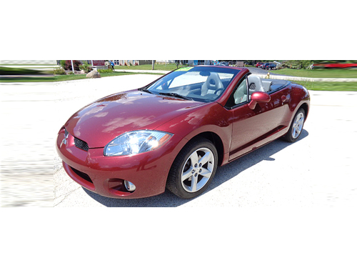 2007 MITSUBISHI ECLIPSE SPYDER GS Heated Leather Seats Rockford Fosgate Stereo Power Windows  Pow