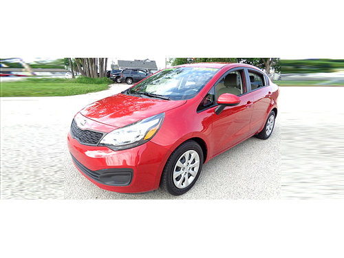 2014 KIA RIO LX Ideally Priced Car 70k Miles Great Gas Mileage And Easy On The Budget Call 1-888-