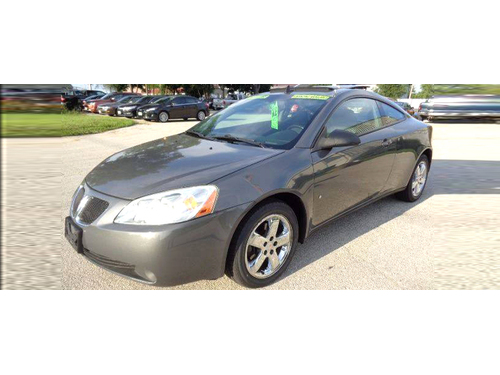 2008 PONTIAC G6 GT COUPE V6 Just 63k Miles Heated Leather Seats Monsoon Premium Audio Sunroof